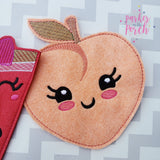 Digital Download- Fruit Banner Bundle - in the hoop machine embroidery ITH pattern
