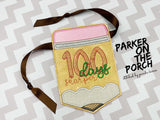 Digital Download- 100 Days Sharper Sketch - Embroidery Fill - in the hoop machine embroidery ITH pattern