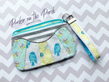 Digital Download - The Daybreak Zipper Bag - in the hoop machine embroidery ITH pattern