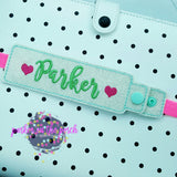 Digital Download- Snap Strap Planner Band - Parker on the Porch