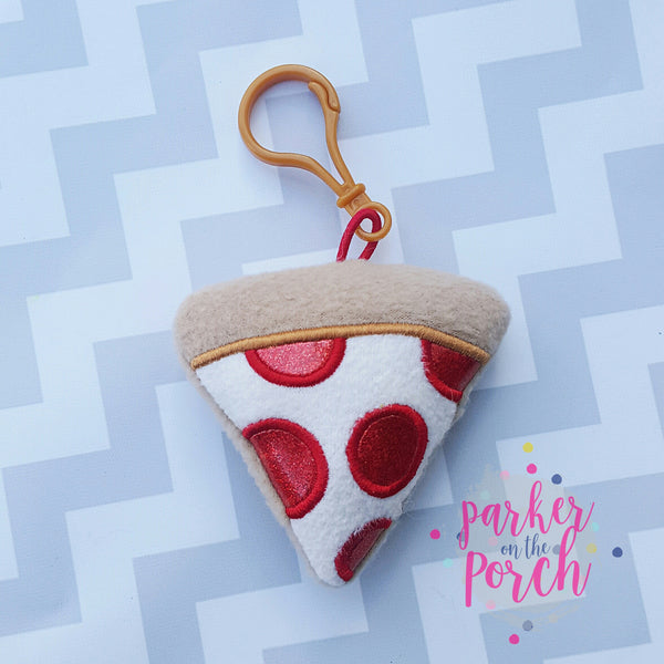 Digital Download - Pizza Tagalong - in the hoop machine embroidery ITH pattern