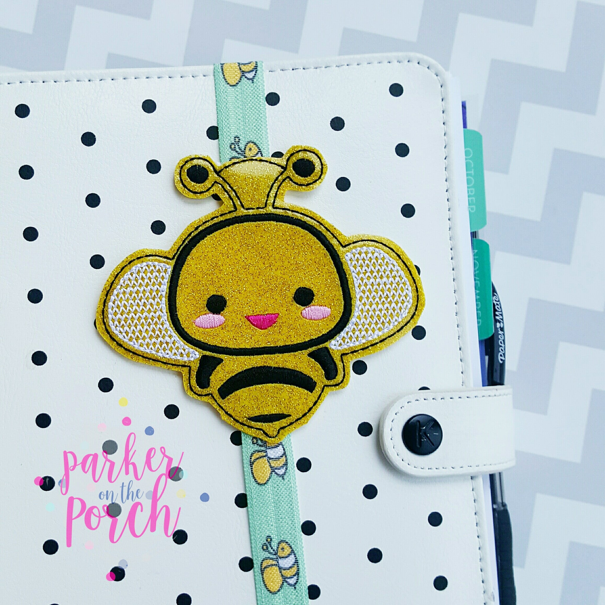 Digital Download- Buzz Bee Planner Band - Parker on the Porch