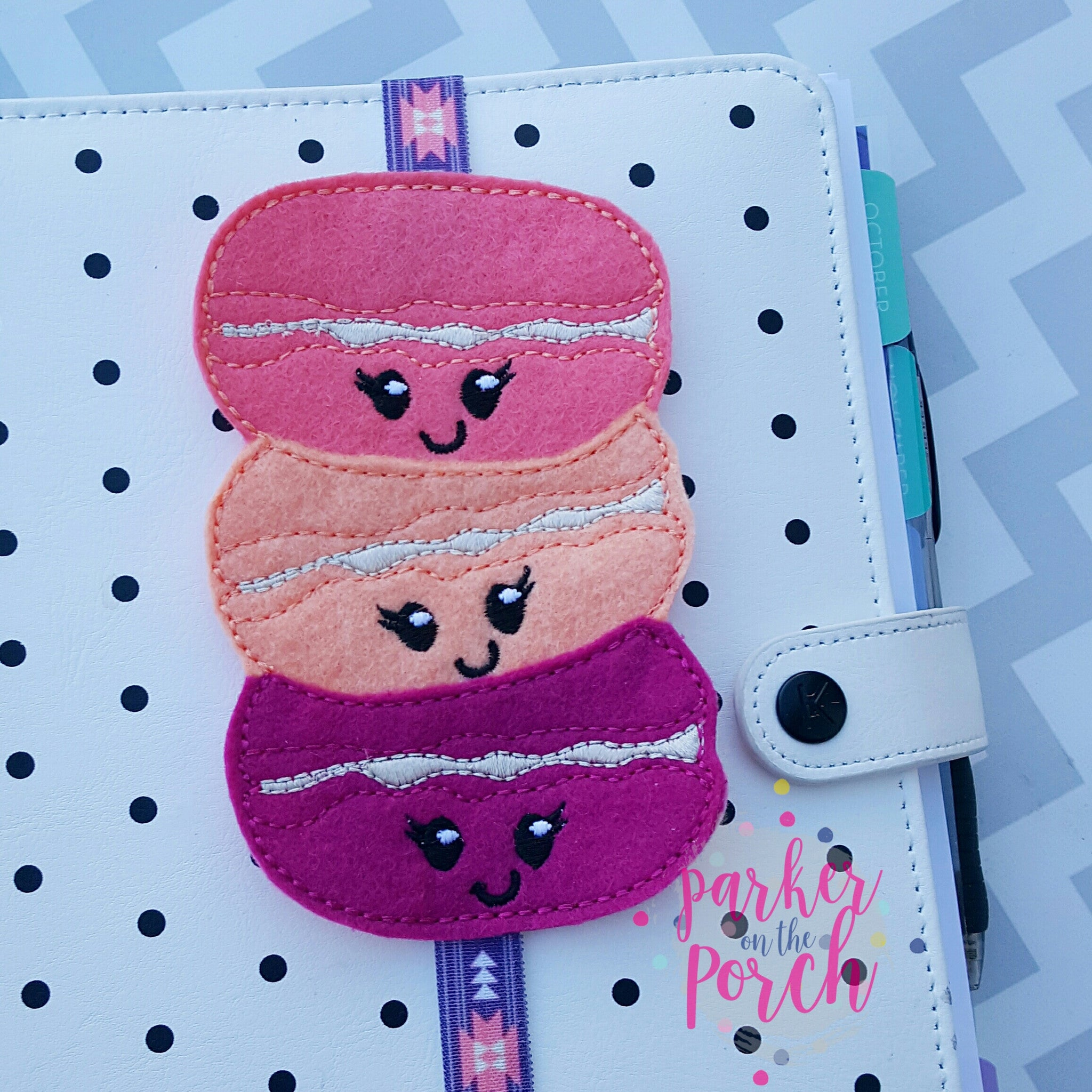 Digital Download - Macaroon Planner Band - Parker on the Porch