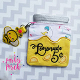 Digital Download - Mason Jar Zipper Bag Embroidery Fill Add-on Pack - in the hoop machine embroidery ITH pattern