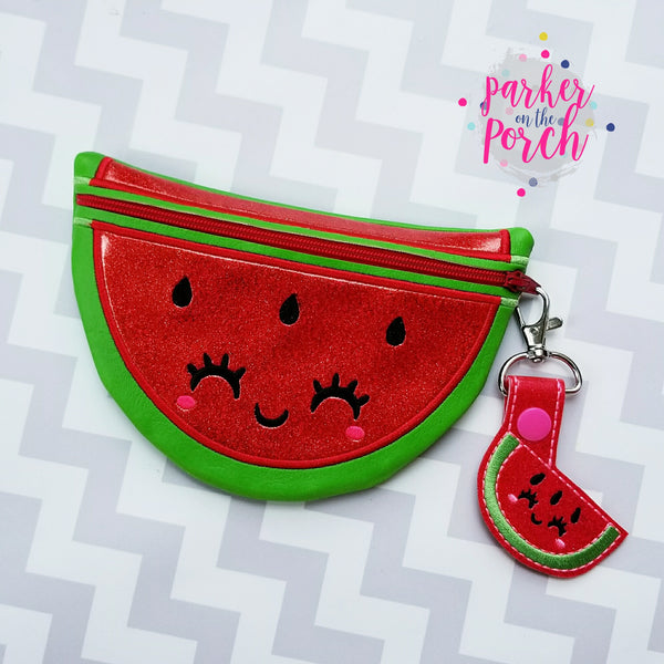 Digital Download- Watermelon & Lemon Zipper Bag