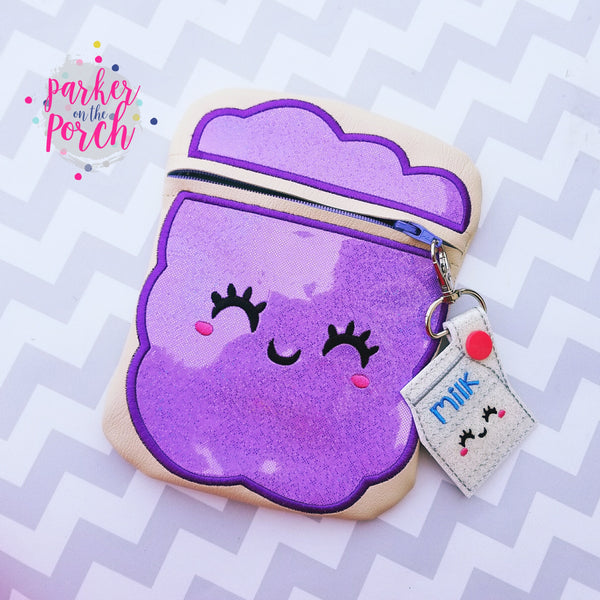 Digital Download- PB&J Zipper Bag