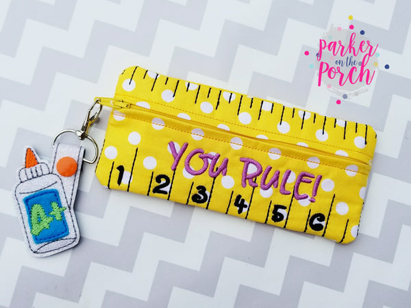 Digital Download- You Rule Zipper Bag