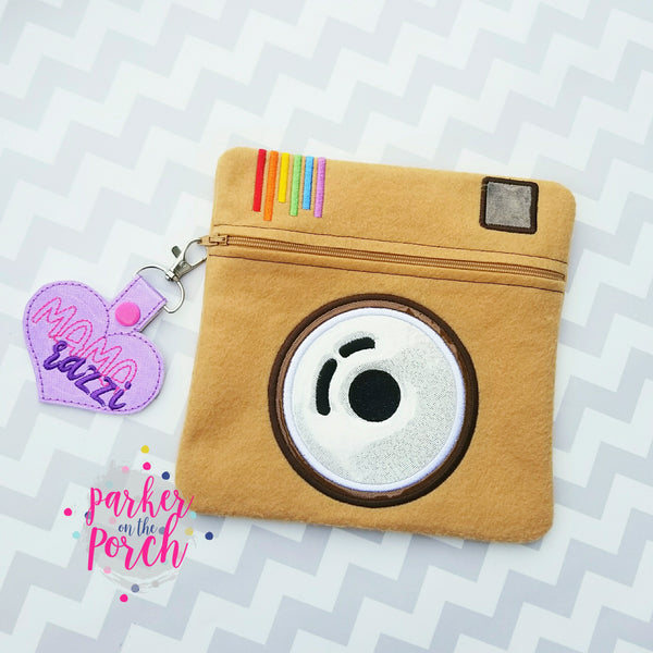 Digital Download- Camera Zipper Bag