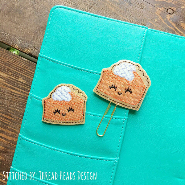 Digital Download- Pumpkin Pie Planner Clip & Feltie Set