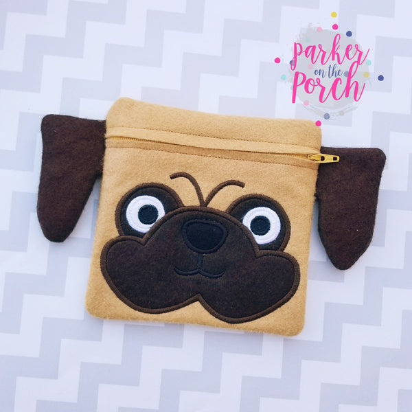 Digital Download- Pug Zipper Bag
