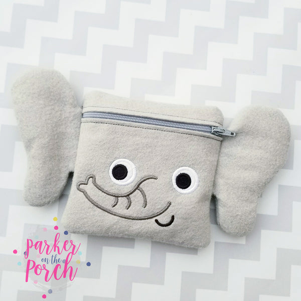 Digital Download- Elephant Zipper Bag