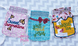 Digital Download- Mason Jar Banner- Sweet Tea - in the hoop machine embroidery ITH pattern