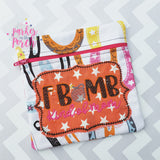 Digital Download- Mature, F-Bomb Kind of Mom Embroidery Fill - in the hoop machine embroidery