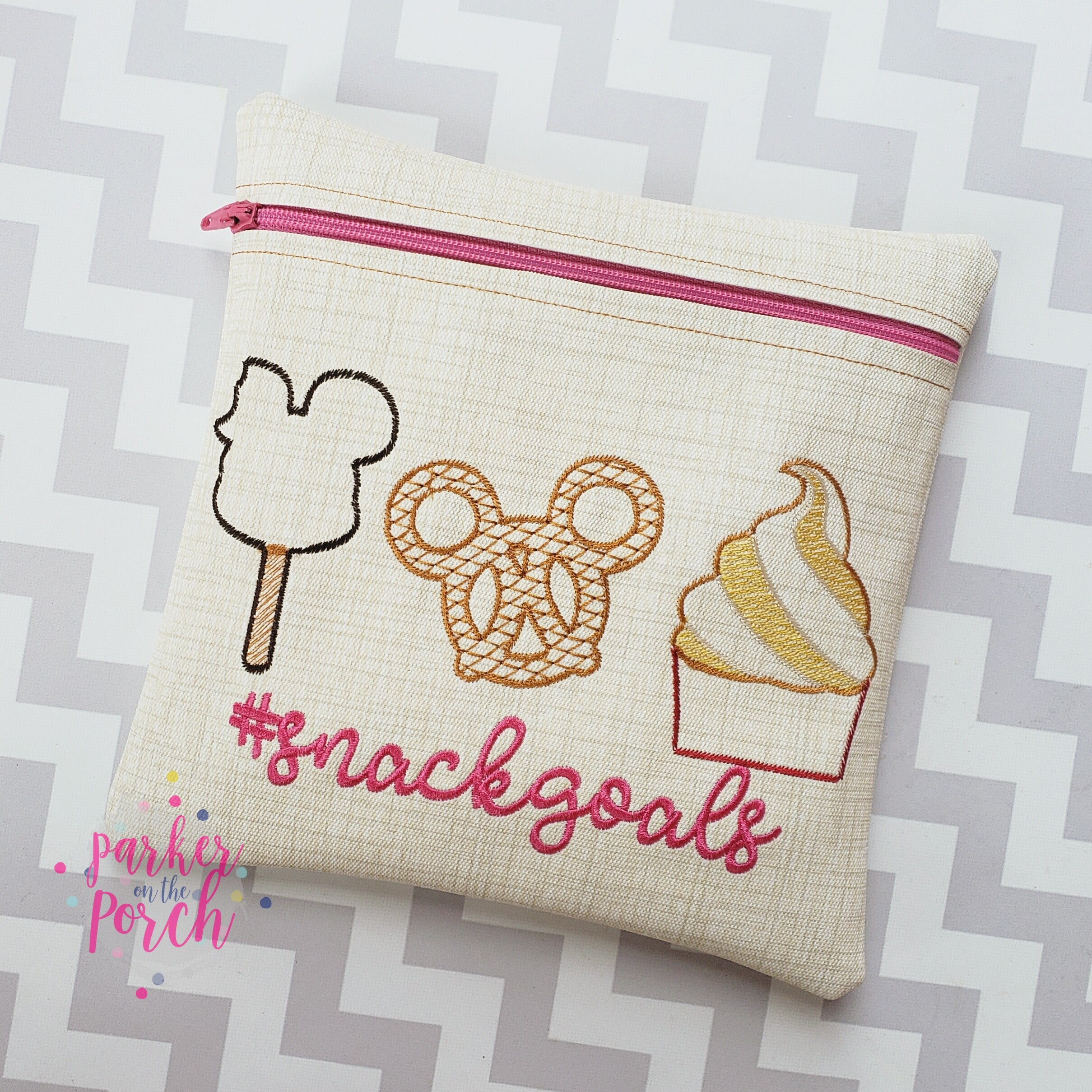 Digital Download- Magical Snacks Trio Embroidery Fill - in the hoop machine embroidery ITH pattern