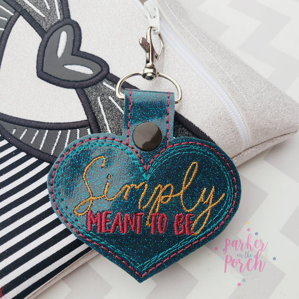 Digital Download- Magical Simply Meant to Be Snaptab - in the hoop machine embroidery