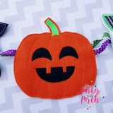 Digital Download- Ghoul Gang Pumpkin ITH Banner - in the hoop machine embroidery ITH pattern