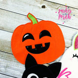 Digital Download- Ghoul Gang Pumpkin ITH Banner - in the hoop machine embroidery