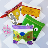 Digital Download- Magical Toys Bundle - in the hoop machine embroidery ITH pattern