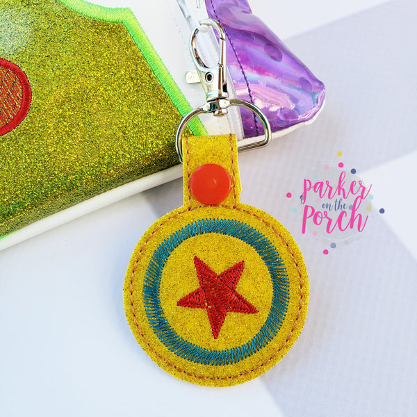 Digital Download- Magical Toys - Ball Snaptab - in the hoop machine embroidery