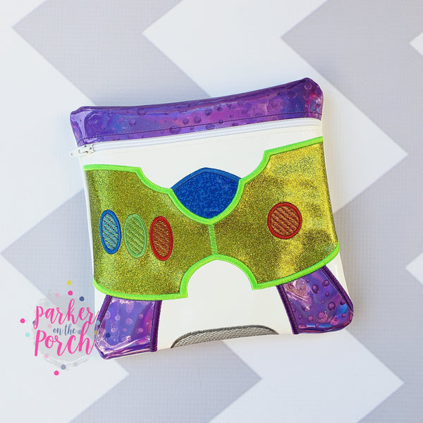 Digital Download - Magical Toys - Ranger Zipper Bag - in the hoop machine embroidery ITH pattern