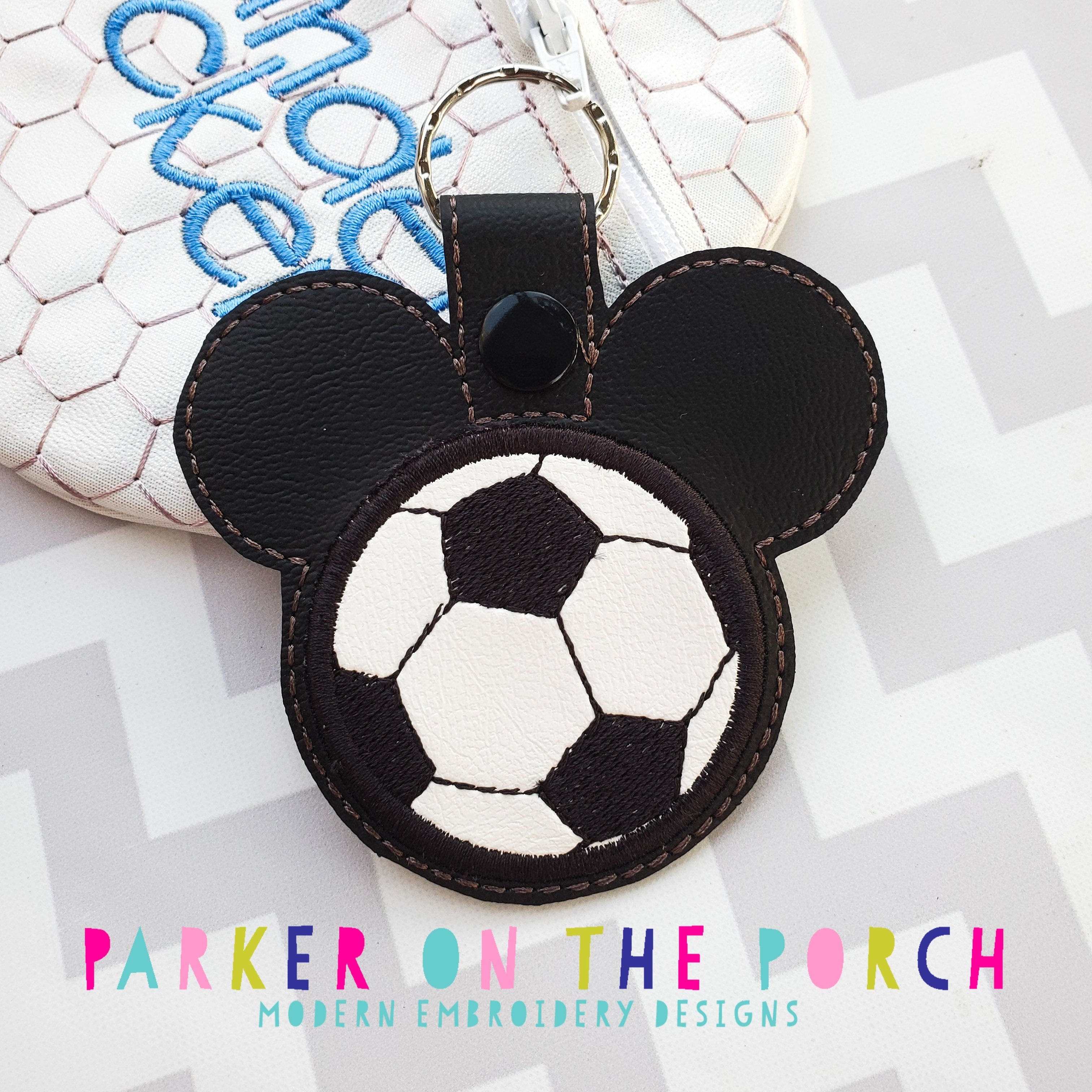 Digital Download- Magical Sports- Soccer - in the hoop machine embroidery ITH pattern