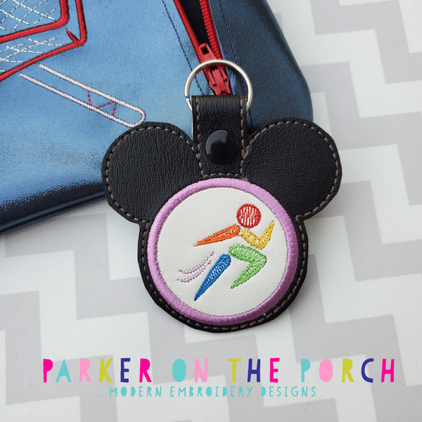Digital Download- Magical Sports- Running - in the hoop machine embroidery
