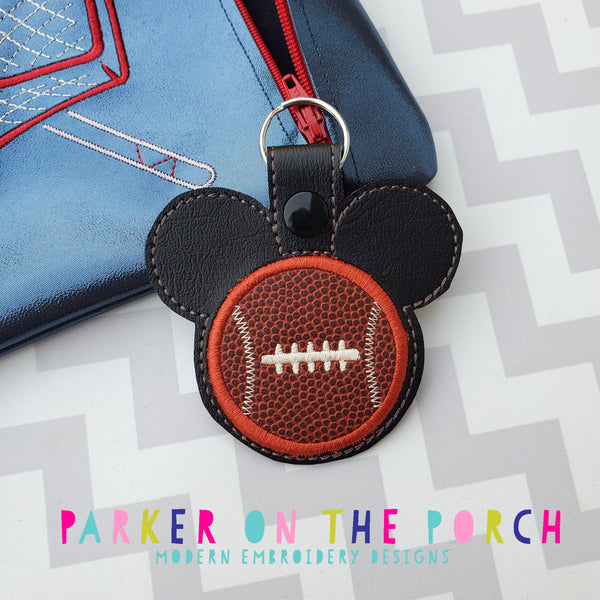 Digital Download- Magical Sports- Football - in the hoop machine embroidery