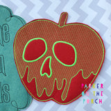 Digital Download - Magical Apple Banner - in the hoop machine embroidery ITH pattern