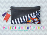 Digital Download- The Sunray FRONT Zipper Bag