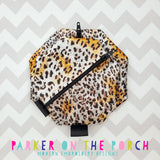 Digital Download- Basic Zipper Bag- Octagon - in the hoop machine embroidery ITH pattern