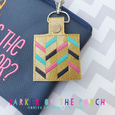 Digital Download - Quilt Block 1 Snaptab - in the hoop machine embroidery ITH pattern