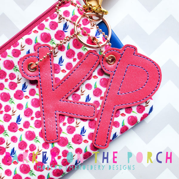 Digital Download - Happy Heart Monogram XL Charms