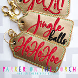Digital Download - Just Say It Charm Set- Mature Holiday