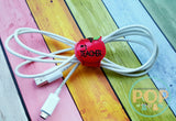 Digital Download- Cord Keeper Apples - in the hoop machine embroidery ITH pattern