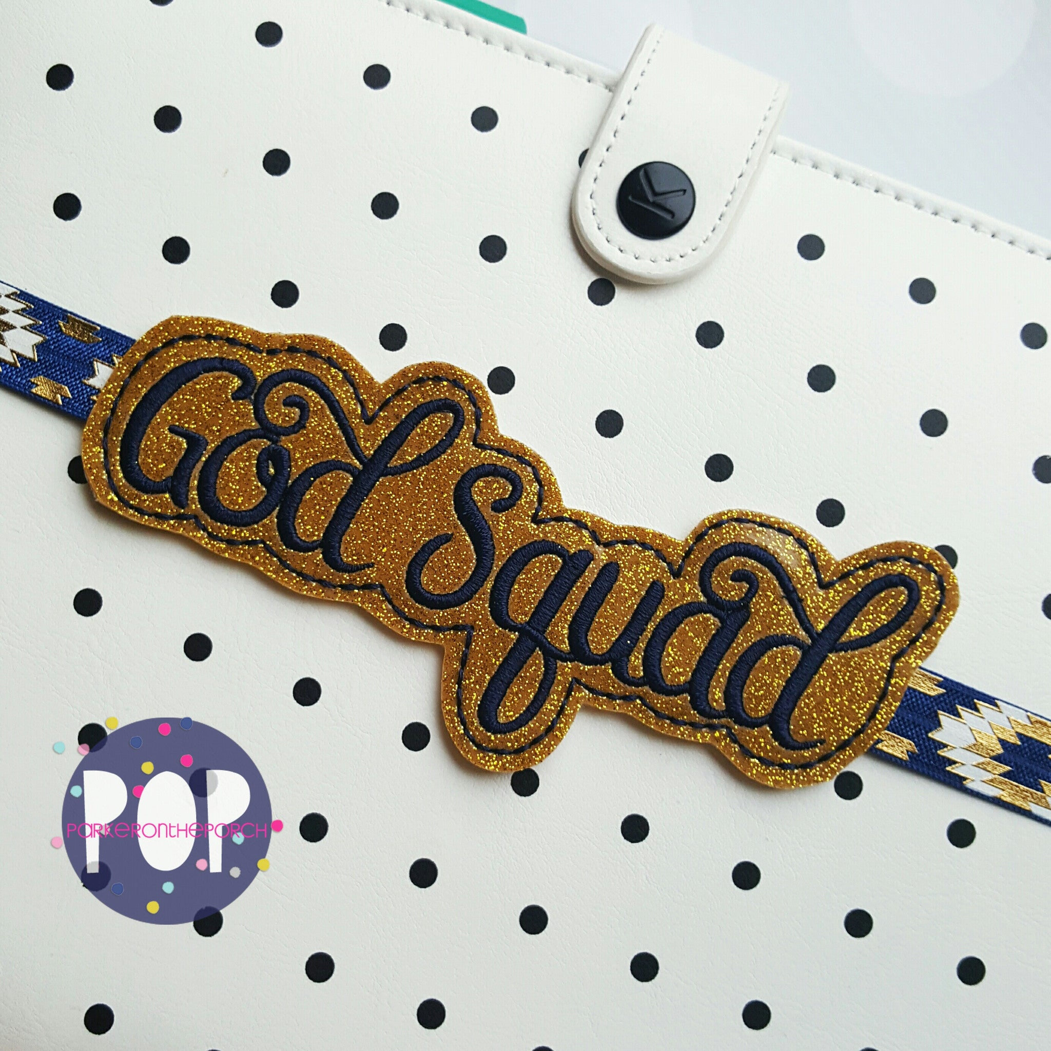 Digital Download- God Squad Planner Band (2 sizes) - in the hoop machine embroidery