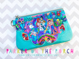 Digital Download- #5 Seaside Top Zip Clutch Zipper Bag