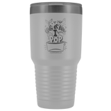 POP Swag-  This is How I POP! 30oz Tumbler - in the hoop machine embroidery ITH pattern
