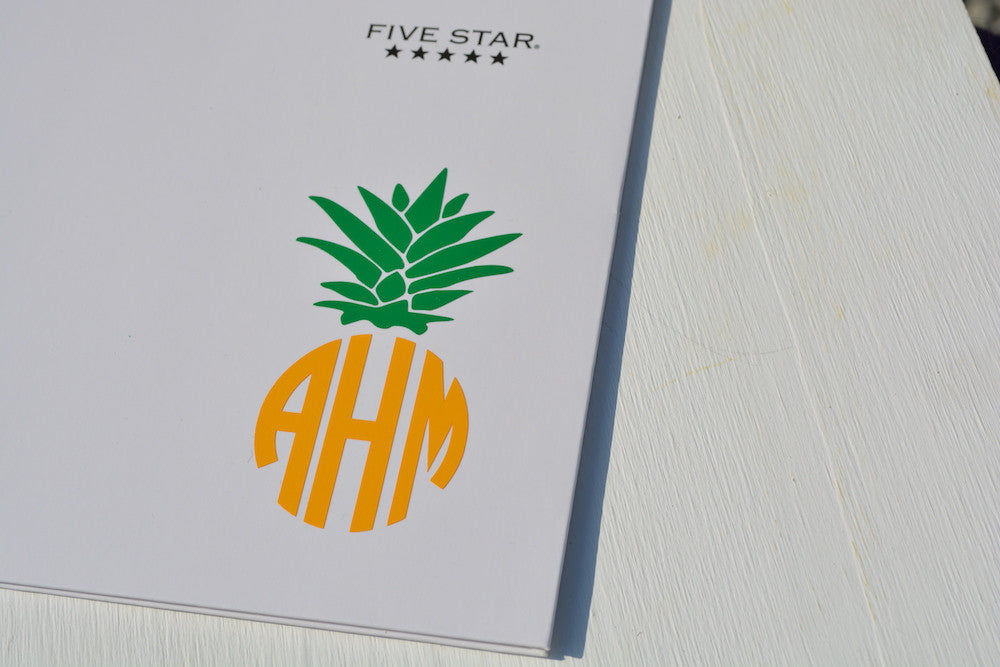 Pineapple Monogram #1