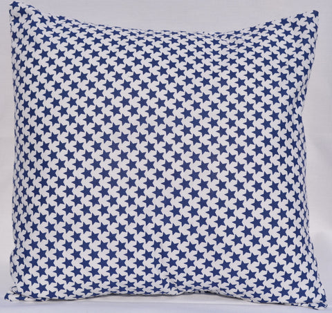 Blue Star Pillow