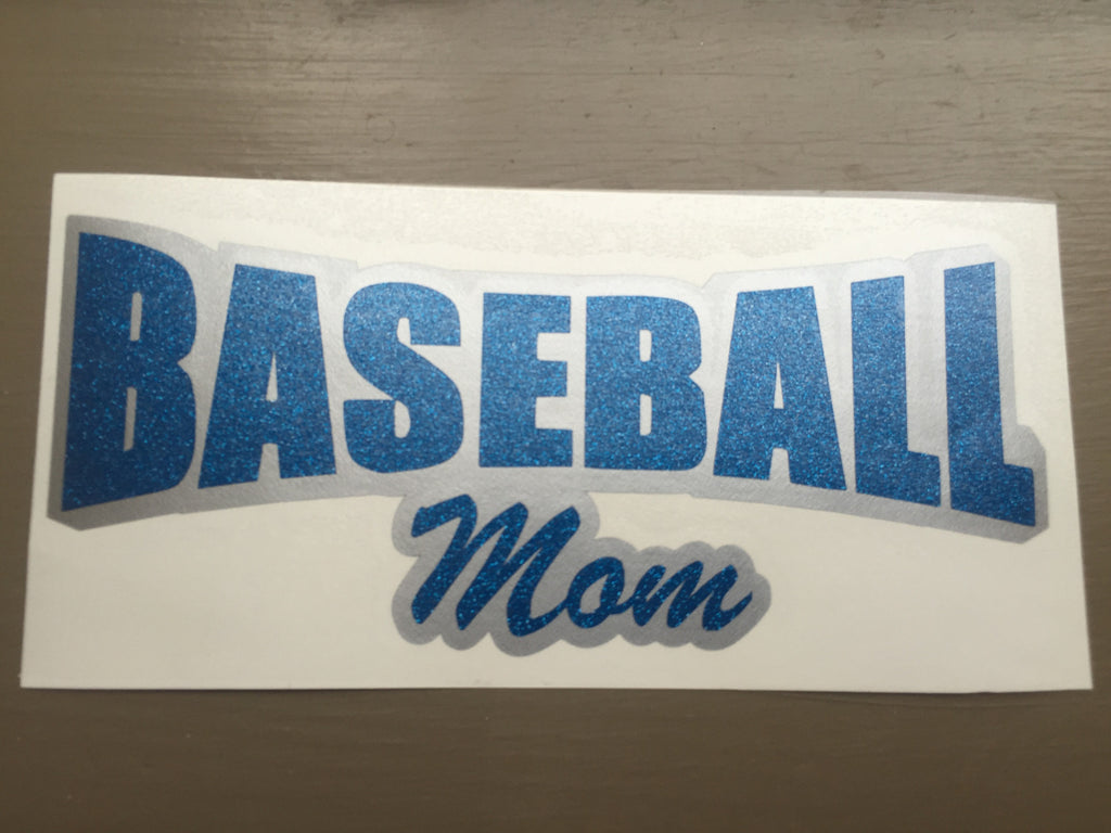 2 Color Sports Mom Decal
