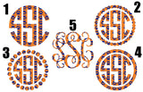 Game Day Monograms!