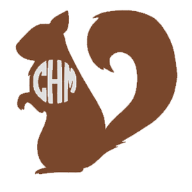 Squirrel Monogram