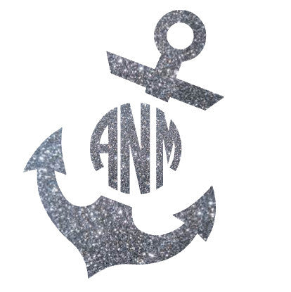 Tilted Anchor Monogram