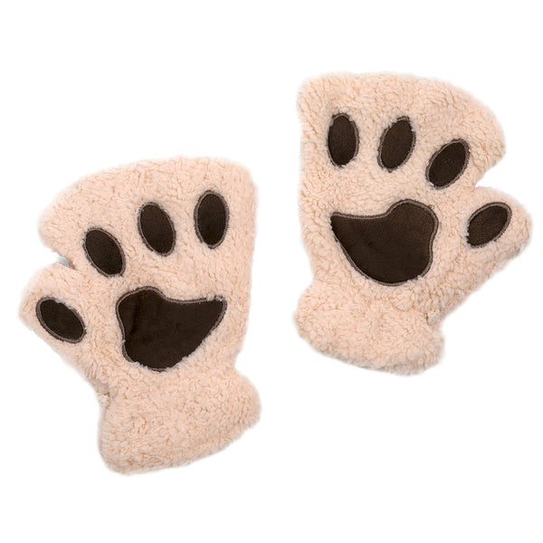 Furry Mitts