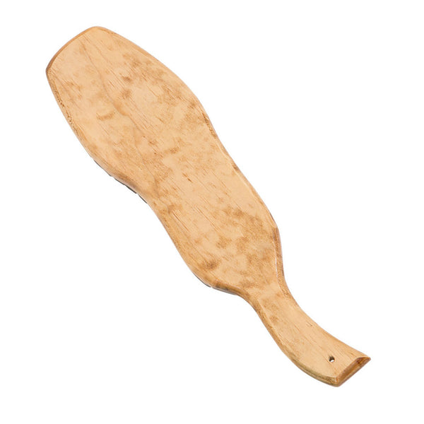 Golden Oak Stained Boot Paddle