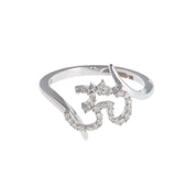 Aum Diamond Ring