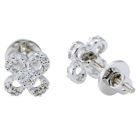 Clover Leaf Stud Earrings