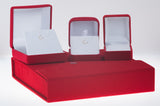 18K White Gold 0.17 Round Diamond (G-H Color, VVS-VS Clarity) Victory Stud Diamond Earrings