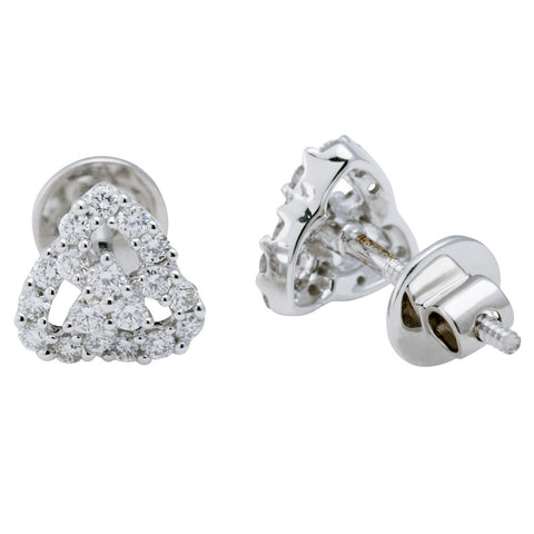 Trinity Stud Earrings