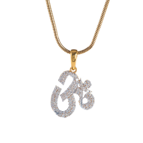 Aum Diamond Pendant